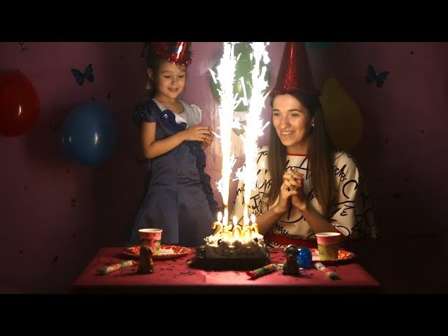 Видео для детей ПРАЗДНИК У нас на канале KidsFM 25 000 подписчиков торт свечи и детс