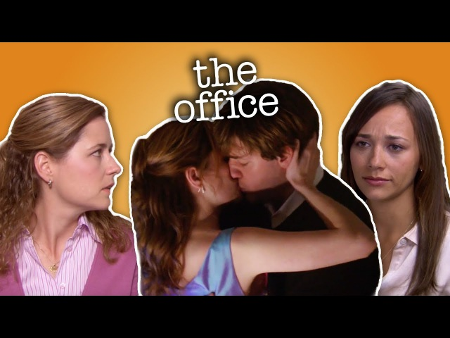 Jim Pam and Karen The Office US