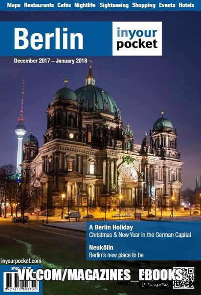 Berlin In Your Pocket December 2017January 2018