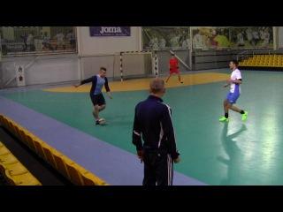 Сатурн 6-3 ЗэМи. Futsal 2017/2018. 4-й тур финальный этап ()