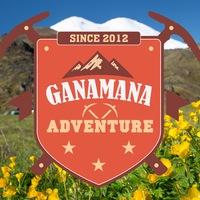 Логотип GanaMana Adventure Восхождения на Эльбрус