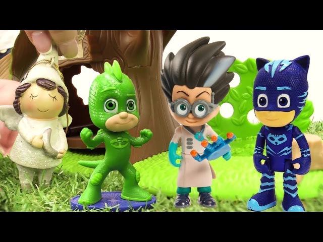 Gecko y Gatuno ayudan al cupido PJ Masks en español