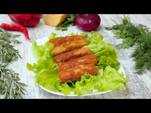 Куриные колбаски с сыром Рецепты от Со Вкусом