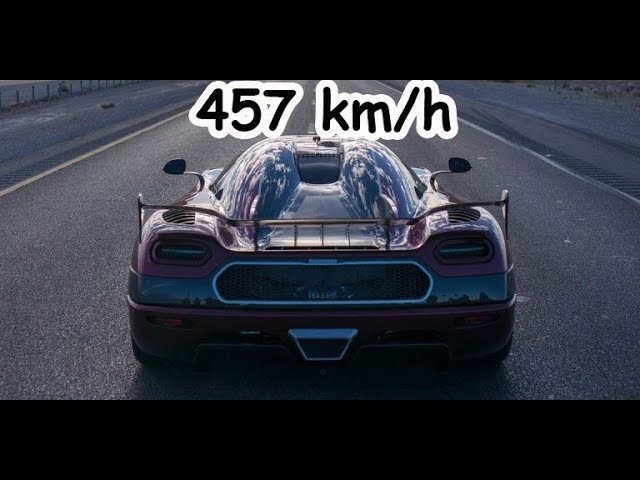 [Top Speed 457 kmh] Koenisegg Agera RS - Bugatti is dead-Fastest Car in the World 2017