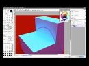 Рисование Ambient Occlusion тень от фонового света разумные границы применения эффекта