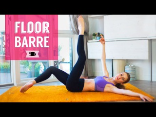 Floor Barre to Improve Technique and Shape your Ballerina Body