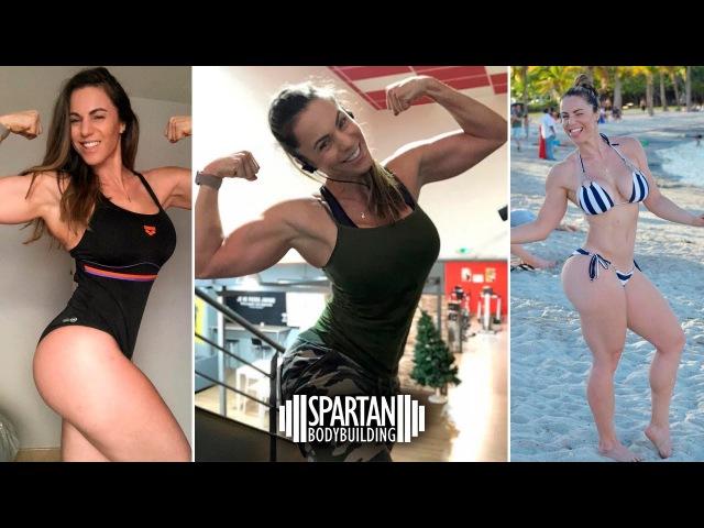 Linda Durbesson training 2 Spartan Bodybuilding