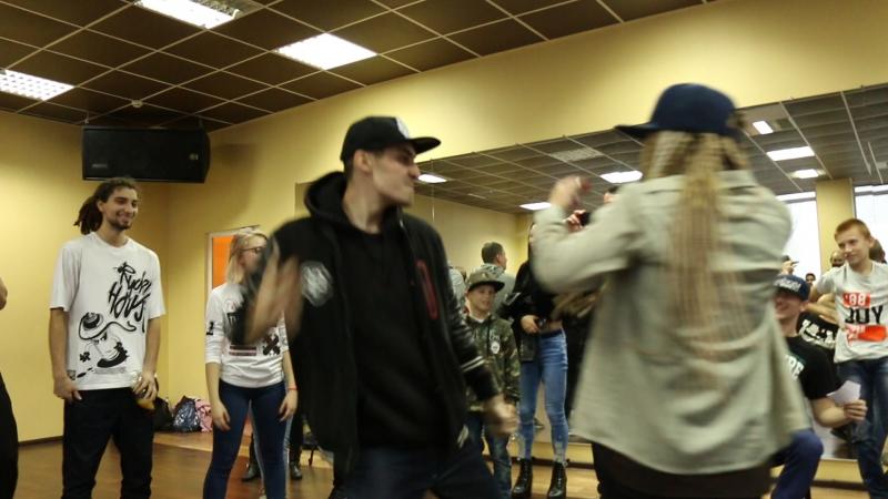 Vincend vs Boy HardLine (win) || 1\4 || NWMB 2