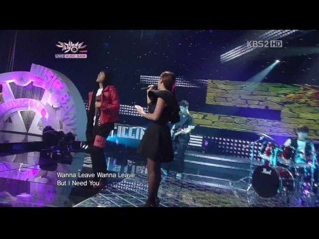 110624 Music Bank illinit Lost Feat Hwayobi