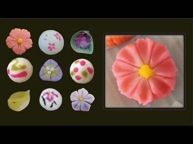 How to make Cosmos Nerikiri Wagashi Yu Art Kichijoji
