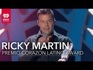 Ricky Martin Acceptance Speech | iHeartRadio Fiesta Latina