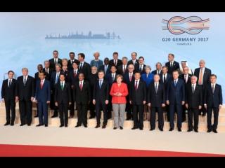 Общее фото участников саммита G20