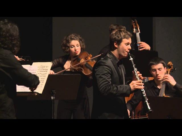 Sebastian Manz: H. J. Baermann Adagio D flat major for Clarinet and Strings