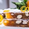 Десерт из смеси орехов и сухофруктов