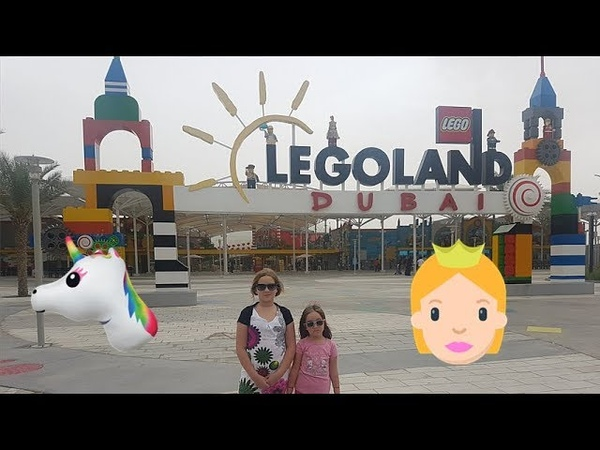 Dubaj Legoland Dubai Rainy day in Dubai