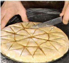 Греческий ореховый пирог, изображение №5
