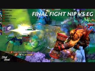 Final fight nip vs eg