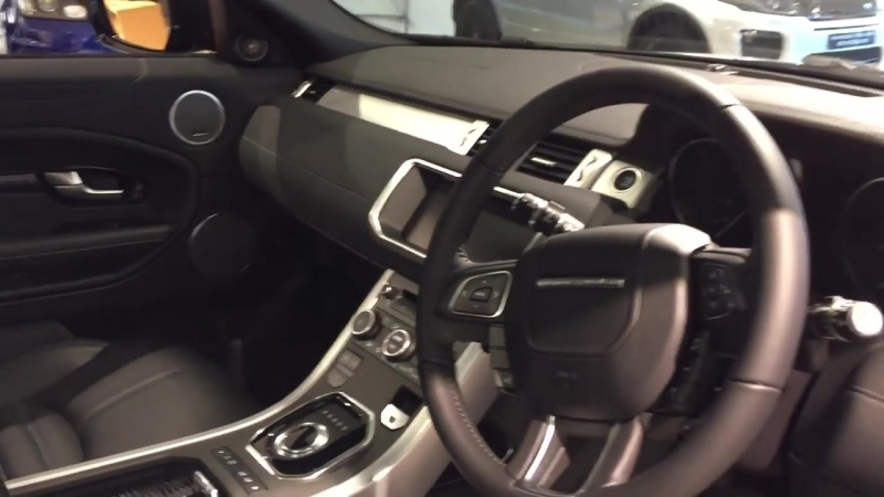 Lenzo Benzo 2017 Range Rover Evoque Coupe Exterior and Interior Review