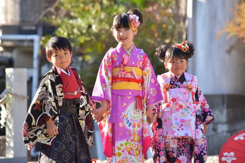 Картинки по запросу Сити-Го-Сан — праздник детей в Японии