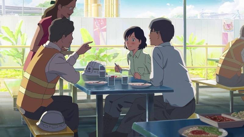 Песня Mr Kite Макото Синкай и Taisei Corporation 新海誠×スキマスイッチ 『ミスターカイト』コラボミュ 1