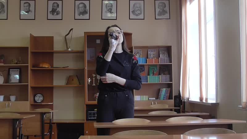 Dernière Danse в исполнении Илоны Ц Репетиция песни к фестивалю Богородские звёзды
