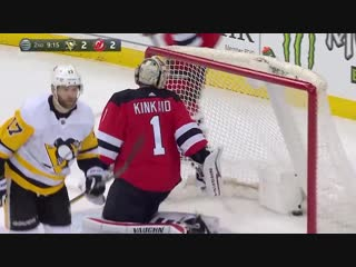 Penguins hold on to beat Devils, 4-3