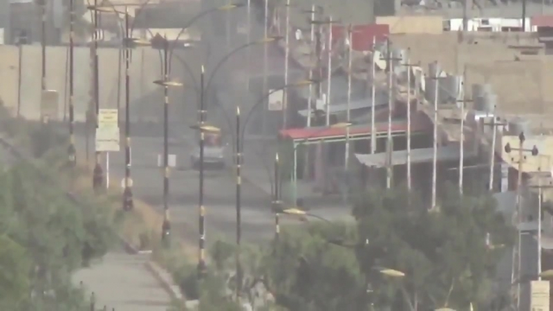 First clip A PKK sniper fires at an ISIS truck in the middle of Shingal town Wait until the end to see how far he took that sh