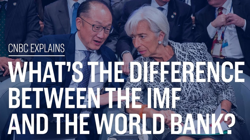 Whats the difference between the IMF and the World Bank | CNBC Explains