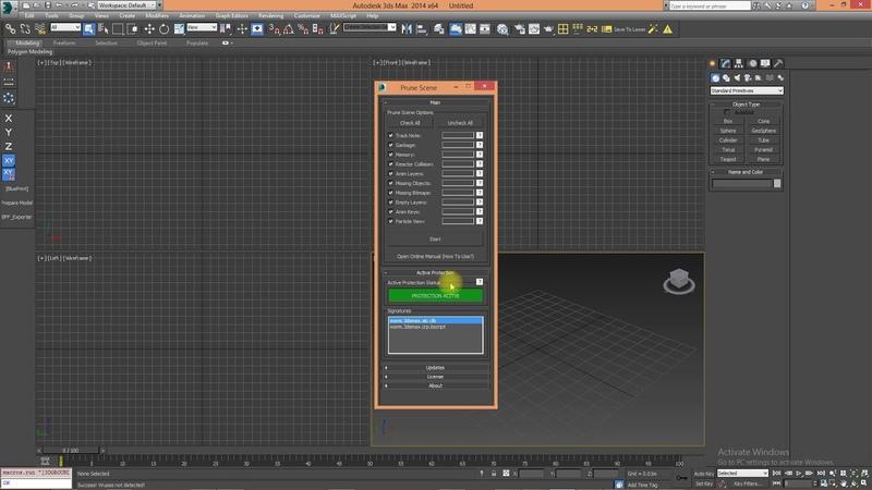 Prune Scene - Remove 3Ds Max ALC and CRP viruses!