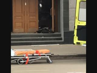 Ситуация у здания ФСБ в Архангельске