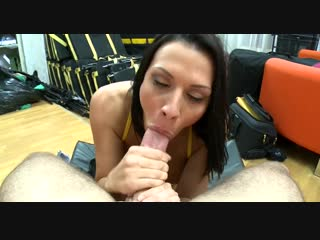 Rachel Starr Pornstar Suck Big Dick POV Deepthroat Blowjob Step Sister Cum in Mouth Cumshot Минет Сперма Порно Секс