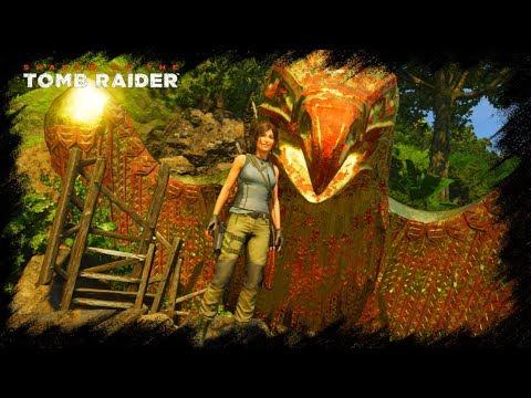 SotTR - Тайный Город. СЕНОТ. Приключения продолжаются. Лара Крофт 2018. Shadow of the Tomb Raider