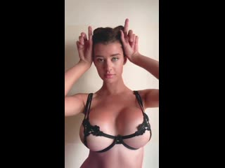 Sarah mcdaniel aka krotchy [instagram] (solo, tits, boobs, girl, nipple, posing, erotic)
