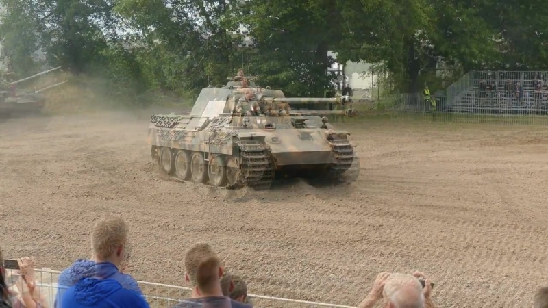 Panzer I Panzer IV Panther Ausf A - Stahl Auf Der Heide 2017
