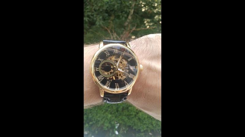 Чоловічий механічний годинник Forsining