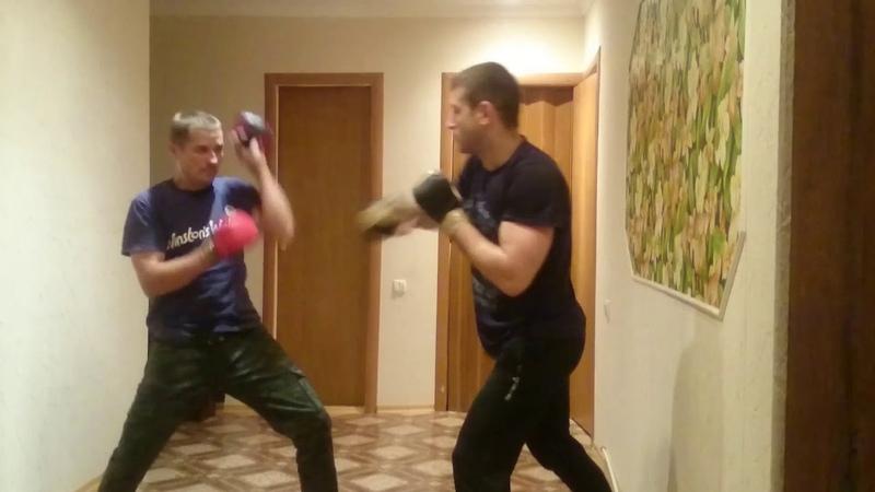 ВИН ЧУН спарринг(условный).Wing Chun sparring conditional.