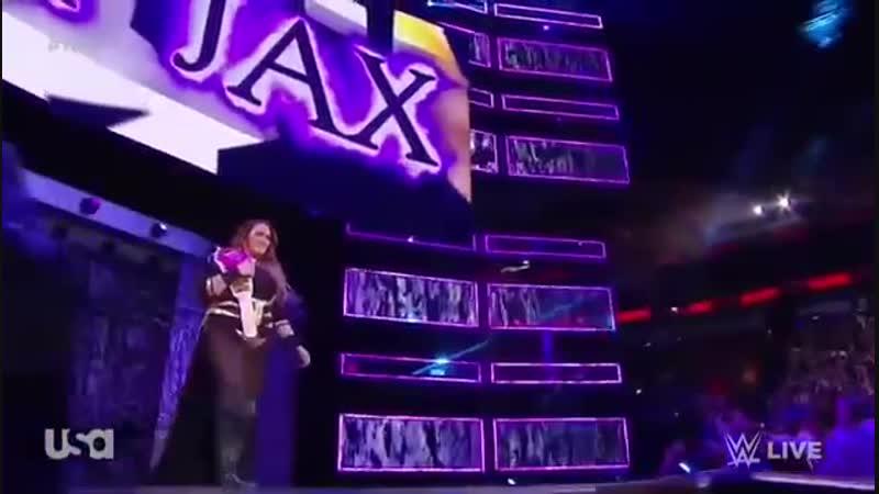 Nia Jax Ember Moon vs Alexa Bliss and Mickie James