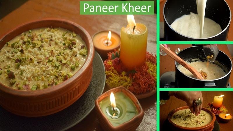 Panneer Kheer Recipe DCS Paneer Payasam Durga Puja Special Deadlicious cooking Studio