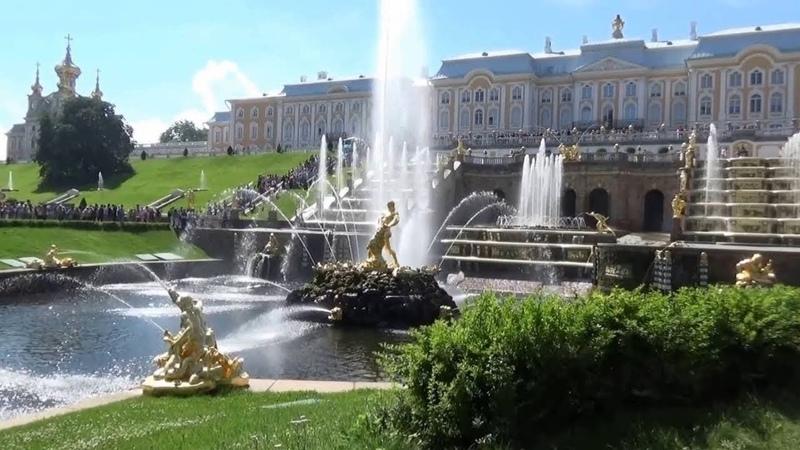 Фонтаны, Нижний парк, Петергоф (Петродворец), лето 2018 от пользователя viki