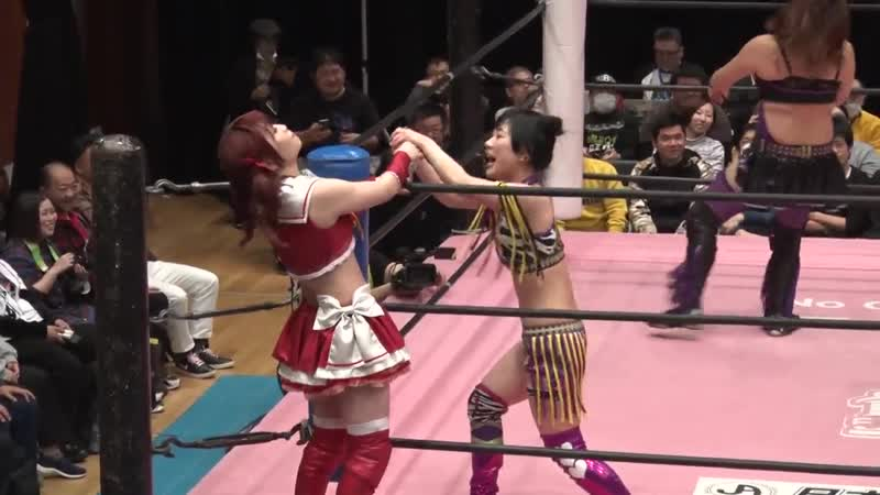 Haruna Neko Himawari Unagi Yuka Sakazaki vs Maki Ito Pinano Pipipipi Yuna Manase