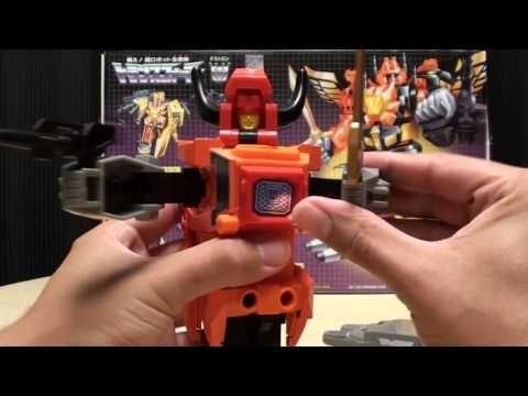 G1 Predacon TANTRUM Predaking Part 2 EmGo's Transformers Reviews N' Stuff