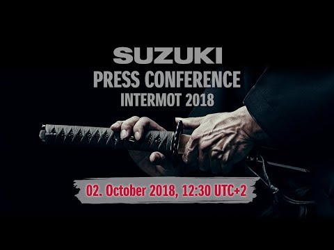 SUZUKI Press Conference INTERMOT 2018