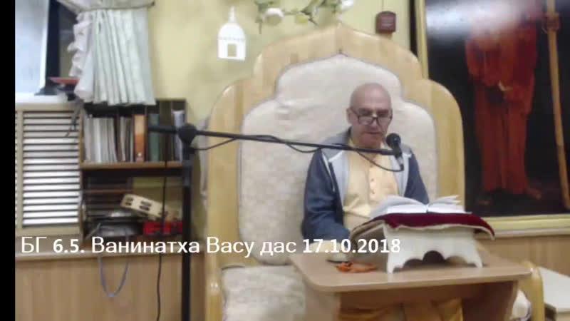 БГ 6 5 Ванинатха Васу дас 17 10 2018