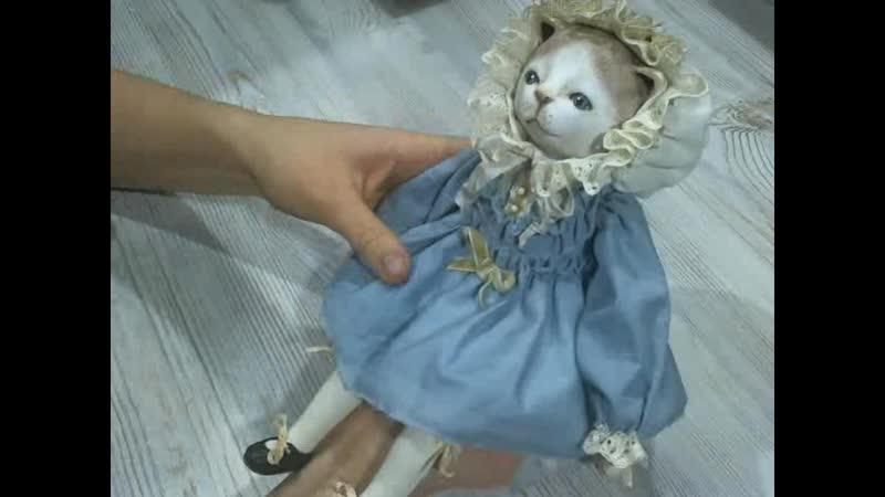 Анонс курса по созданию подвижной куклы Котенок Глумова Альбина
