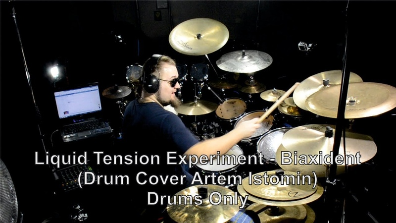 [Drums Only] Liquid Tension Experiment - Biaxident - (Drum Cover Artem Istomin)