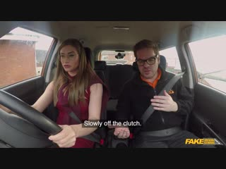 [fakedrivingschool] sarah sultry - russian teacher creampied