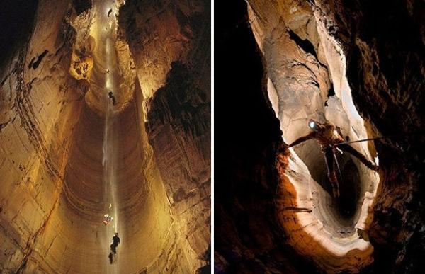 Учёные открыли самую глубокую в мире пещеру