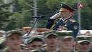 Военный парад в честь 25-летия Дня Победы Республики Абхазия в отечественной войне 1992-1993 гг