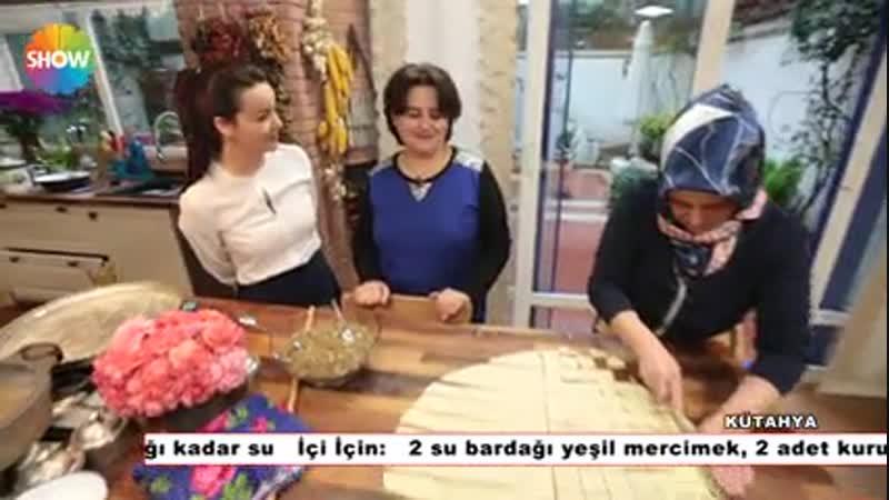 Mercimekli Sini Mantısı ecdad.org.tr