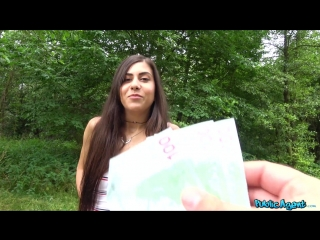 PublicAgent Anya Krey - Horny sexy tourist fucked in forest New Porn 2018